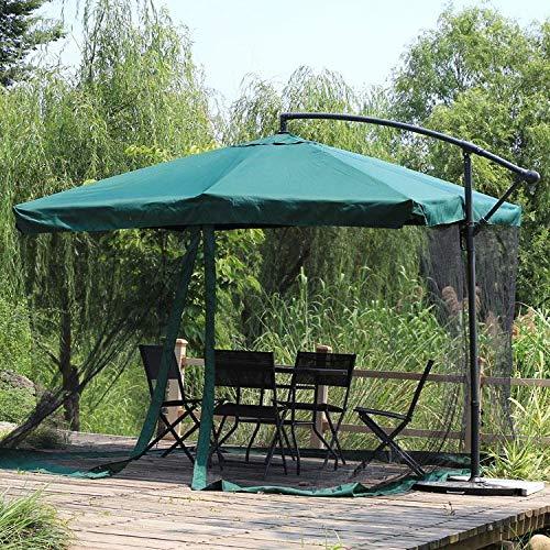Hspoup Outdoor Camping Patio Sonnenschirm Regenschirm Zelt Bildschirm Abdeckung Mosquito Bug Insect Net