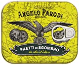 Angelo Parodi - Filetti Di Sgombro, In Olio Di Oliva - 2 pezzi da 230 g [460 g]