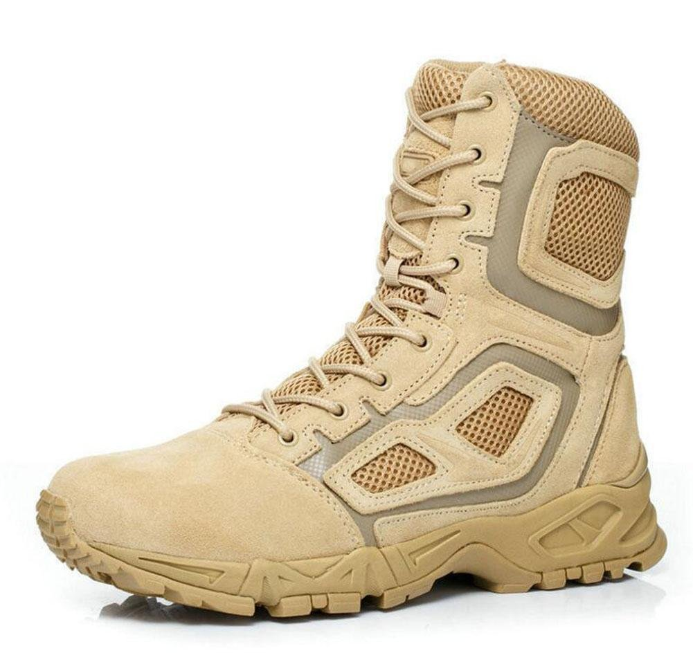 GLSHI Men Breathable Boots High Rise Boots Camouflage Boots Leather Hunting  Boots Outdoor Climbing Boots: Amazon.co.uk: Sports & Outdoors