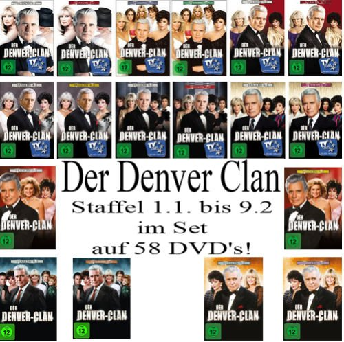 Seasons 1-9 (58 DVDs)