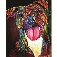 ZHOUBA Lovely Dog DIY 5D Resin Diamond Painting Embroidery Cross Stitch Wall Decoration