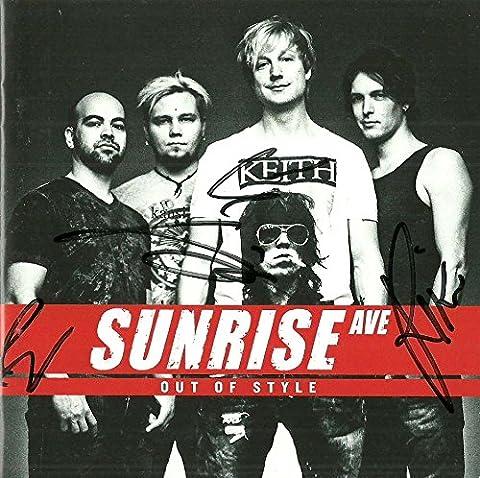 Sunrise Avenue (CD Album Sunrise Avenue, 12 Tracks)