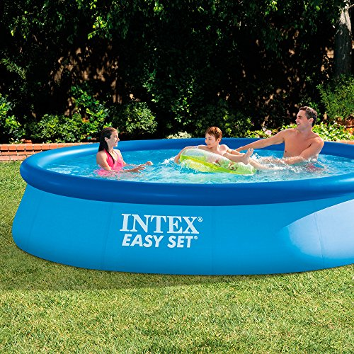 Intex 28142GN - EasySet Pool- Set inkl. Filterpumpe 396cm x 84cm -