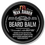 Man Arden Beard Balm - Soften & Moisturizes Beard with Beeswax & Shea Butter, 50gm
