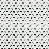 Stoff Dekostoff Mickey Mouse hellgrau - Meterware - Stoff