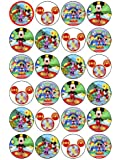 24 Mickey Mouse Clubhouse Kuchendeckel