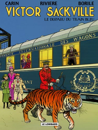 Victor Sackville - tome 21 - Disparu du Train Bleu (Le)