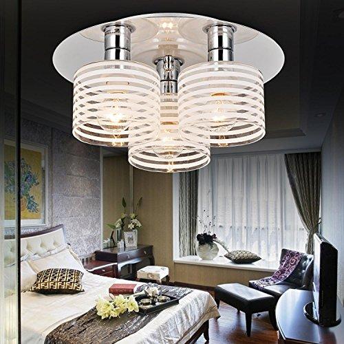 moderno lampadario 3-testa Semplice ed elegante, alla moda camera da