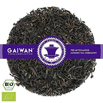 """N° 1248: Thé noir bio """"Mélage de feuilles de Frison de l'Est"""" - feuilles de thé issu de l'agriculture biologique - GAIWAN® GERMANY - thé noir d'Assam, de Inde"""