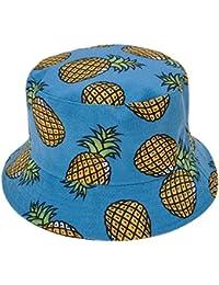 ZLYC Unisex Funky Fruit Print Bucket Hat Fishmen Outdoor Cap 39f878e6dfd1