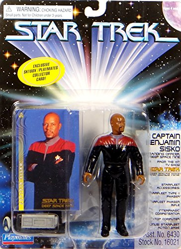 Captain Benjamin Sisko Commanding Officer DS9 - Actionfigur - Star Trek Deep Space Nine von Playmates (Deep Space Nine Playmates)