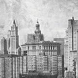 JP London cnvsqm2173Galerie Leinwand in Dick Schwerer Galerie 2Wickeln Leinwand Art Wand Vintage Antik New York City Skyline bei 22in von 22in
