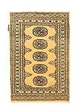CarpetVista Pakistan Buchara 2ply Teppich 62x90 Orientteppich
