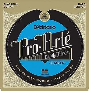 D'Addario Cordes composites pour guitare classique D'Addario Pro-Arte EJ46LP, Hard