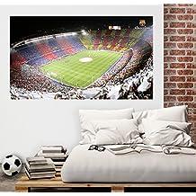 Vinilo decorativo oficial FCBarcelona - Camp nou (85x150cm)