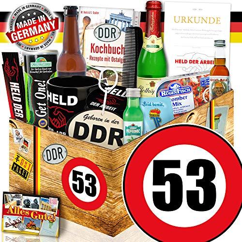 Männerset DDR  Geschenkset Männer   Zahl 53   Geschenk Box Männer