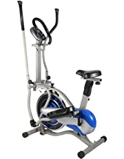 Fitness 4 in 1 Orbitrek with Seat and Pulse Stand - {GERMAN TECH}