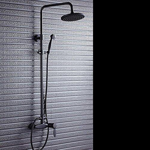 RFF-Stile americano antico nero bronzo regolabile doccia rubinetto doccia con