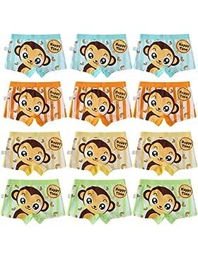 Usex Sense 12 Pack Bóxers - para niño Calzoncillos