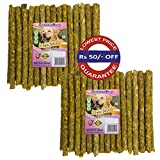 Spectrum Group An ISO 9001:2015 & HACCP Accredited Company brings for your pampered dog A Combo Pack of Premium Chicken Flavored 40+40=80 Sticks