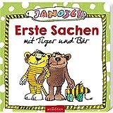 Janosch Nachziehfigur Tiger Holzspielzeug Beluga Spielwaren 65024