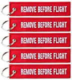Llavero con «remove before flight» – 5 unidades