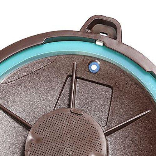 Smart Cooker Schnellkochtopf f. die Mikrowelle m. Dämpfeinsatz Kochtopf Ø 18,5cm - 3