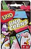 Mattel Games FNC46 UNO (Uni-) Corns Kartenspiel, Einhorn Spiel geeignet für 2 - 10 Spieler, Spieldauer ca. 15 Minuten, ab 7 Jahren