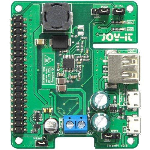 Raspberry RB-StromPI2 Aufrüstset grün