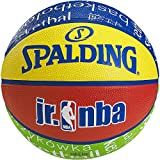 Best Basketballs - Spalding Kid's NBA Basket Ball - Multicoloured Review
