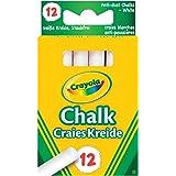 Crayola - 12 Gesso bianco senza polvere 0280