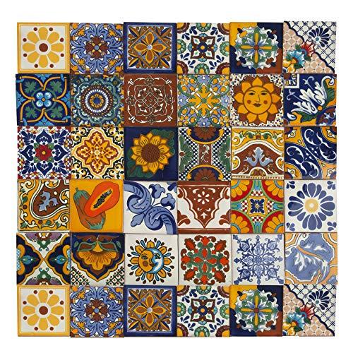Cerames - Conrado - Azulejos Mexicanos decorados 