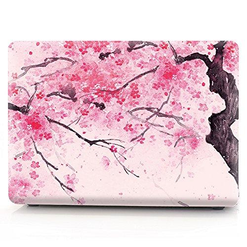 L2W MacBook Air 11 Hülle Zubehör Laptop Plastik Hartschale Tasche Schutzhülle für Apple MacBook Air 11 Zoll Modell A1465/A1370 Sakura - 10