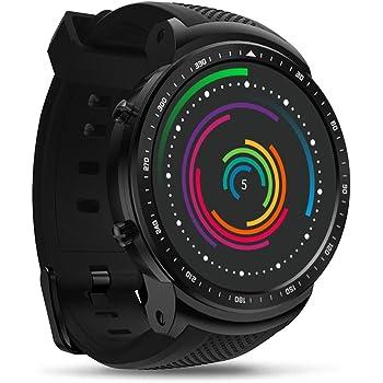 332PageAnn Reloj Inteligente Hombre 3G GPS Smartwatch Pulsómetro En La Muñeca 1GB+16GB Impermeable Fitness