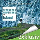 Gebrauchsanweisung für Island - Kristof Magnusson