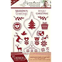 Sara Signature Collection skandinavischen Weihnachten – Stempel – 'Tis The Season, transparent
