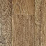 PVC-Boden Holzdielenoptik Braun Rustikal Vliesrücken| Muster | Vinylboden versch. Längen | Fußbodenheizung geeignet | Platten strapazierfähig & pflegeleicht | robuster, rutschhemmender Fußboden-Belag