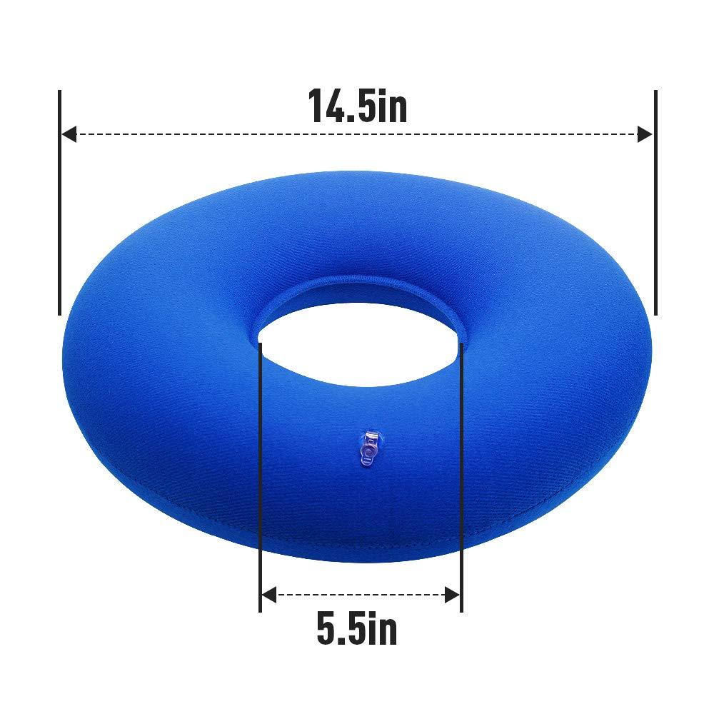 Cuscino Ciambella Per Coccige.Nuobk Emorroidi Cuscino 38cm Cuscino Gonfiabile A Ciambella