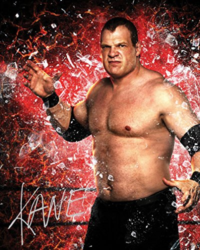 Kane #1 WWE| Signed Lab Photo Reprint | 10x8 Size to, used for sale  Delivered anywhere in Ireland