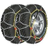 Chaines neige 4x4 Suv Utilitaires 16mm (la paire) 185/80R16 - 195/75R16 - 195/80R16 - 205/70R16 - 205/75R15 - 205/80R15 - 215/60R17 - 215/65R16 - 215/70R15 - 215/75R14 - 215/75R15 - 215/80R14 - 220/60R16 - 225/55R16 - 225/60R16 - 225/65R15 - 225/65R16 - 225/70R15 - 235/55R16 - 235/60R15 - 245/50R16 - 245/60R15 - 255/50R16 - 265/50R15 - 275/40R16 - 275/45R15 - 600R16 - 640R16 - 670R15 - 750R14 - 800R16.5 - 9/75R16