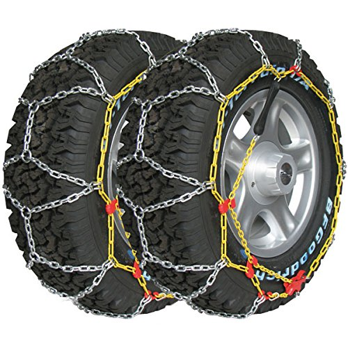 Chaines neige 4x4 Suv Utilitaires 16mm 165/75R15 - 175/75R14 - 175/80R14 - 185/60R16 - 185/70R14 - 195/65R14 - 205/55R15 - 205/60R14 - 215/50R15 - 225/45R15 - 650R14 (la paire)