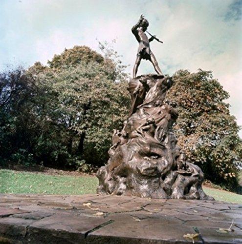 George James Frampton - Peter Pan Statue George James Frampton (British 1860-1928) Sculpture Kensington Gardens London Poster Drucken (60,96 x 91,44 cm)