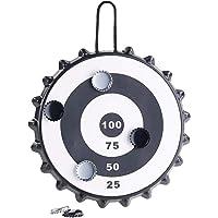 Playtastic Kronkorken Dart: Magnetisches Kronkorken-Dartspiel mit 6 Kronkorken, Ø 24 cm (Kronkorken Dartscheibe)