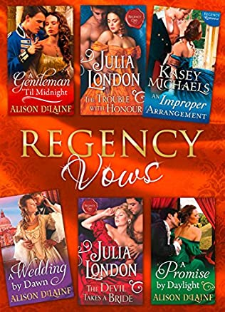 book cover of Regency Vows