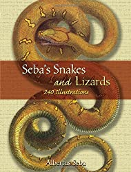 Seba's Snakes and Lizards: 240 Illustrations (Dover Pictorial Archives)