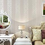 3D geprägte Vlies Tapete minimalistisch gestreift Schlafzimmer Wohnzimmer den TV-Hintergrund Tapete Rosa