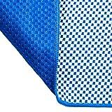 pandoo Bambus Reisehandtuch - ultraleicht, extrem saugfähig, antibakteriell & schnelltrocknend | besser als herkömmliche Mikrofaser | Sport-, Reise-, Trekking- & Badetuch - alle Größen und 5 Farben (Dunkelblau, XL - 200x80cm) -