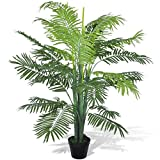 vidaXL Phoenix künstliche Palme Kunstpalme Kunstpflanze Kunstbaum roebelenii 130