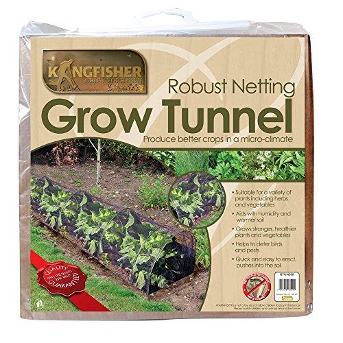 kingfisher-netz-tunnel-gartennetz-tunnel-gewachshaus-pflanzen-abdeckung