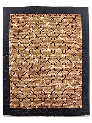 Handgeknüpfter Gabbeh Teppich, Mehrfarbig, Wolle, 245 X 306 cm